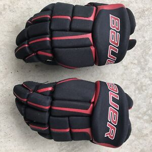 "Bauer 12"" youth hockey gloves"