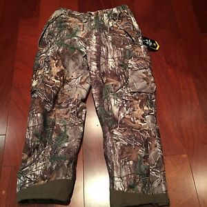 New Hunting Camo Insulated Pants Size Medium Men's
