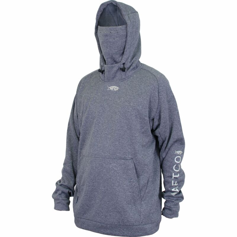 AFTCO Reaper Fishing Hoodie w/ Integrated Face Mask Fishing Cold Weather Gear