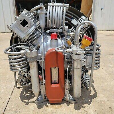 Bauer Ik-180.1 5 Stage 6k Psi Compressor Pump- High Pres. Paintball Scuba Air