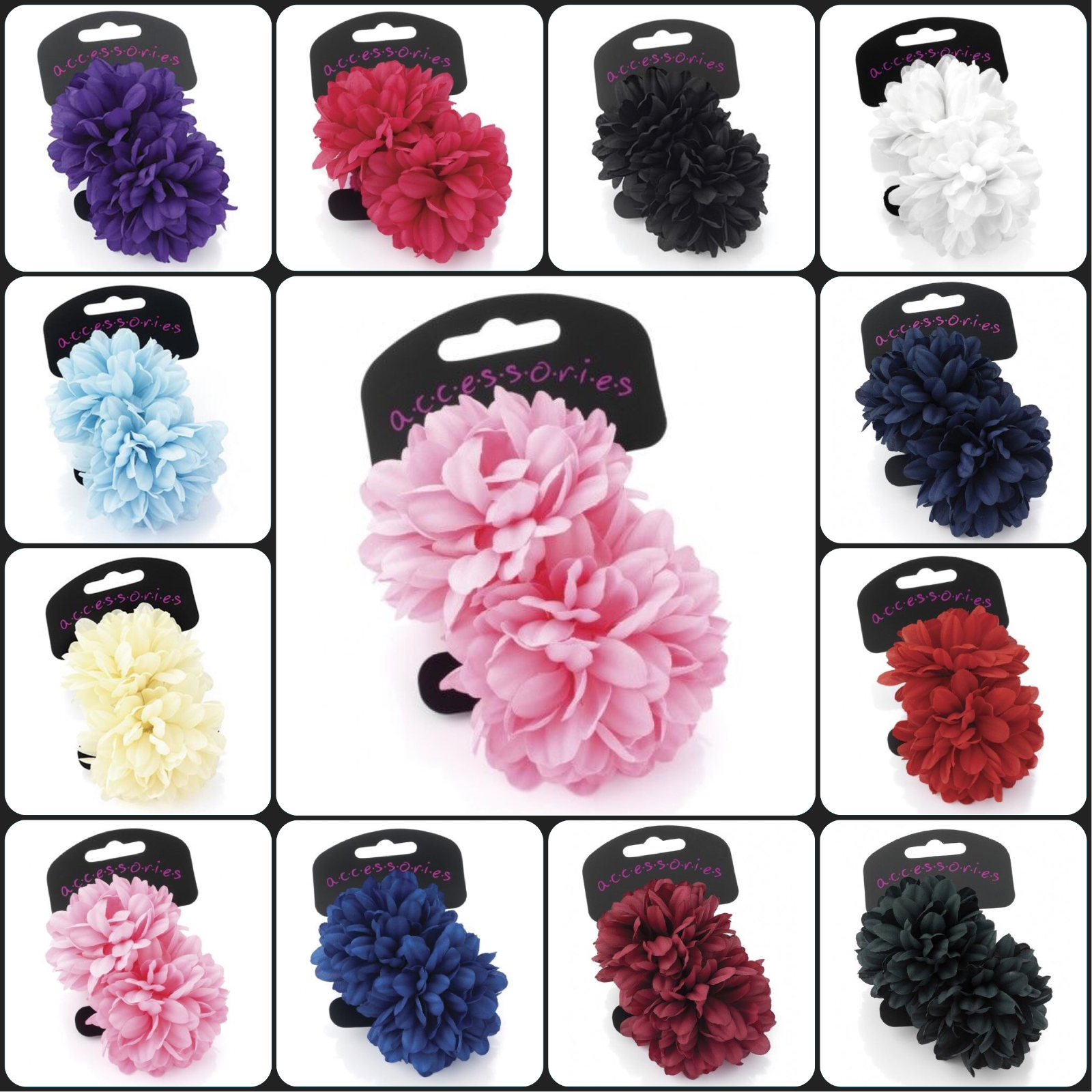 School Hair Accessories Scrunchie and Ponios Hair Bobbles Hair Bands Elastics