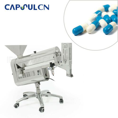 HSL-C100B Capsule Polishing Machine With Sorting Remove Unqualified Capsules