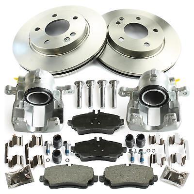 2x Bremssattel + Bremsscheiben + Bremsbeläge vorne Mercedes-Benz A-Klasse W168