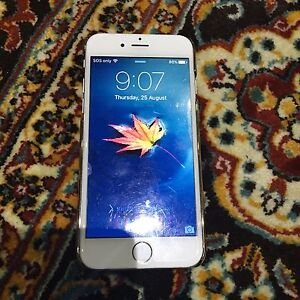 iPhone6 silver 16GB Merrylands West Parramatta Area Preview