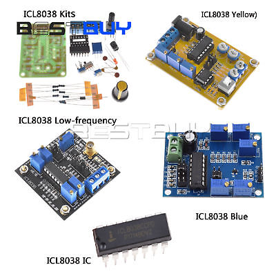 Icl8038 Function Signal Generator Ic Diy Sine Square Triangle Wave Dds Bbc
