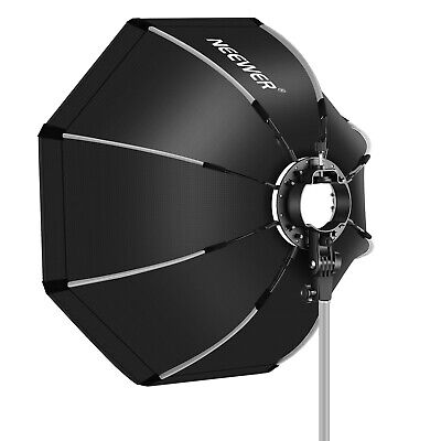 "Neewer 26""/65cm Octagonal Softbox Rapid Folding with S-Type Mount Carrying Case"