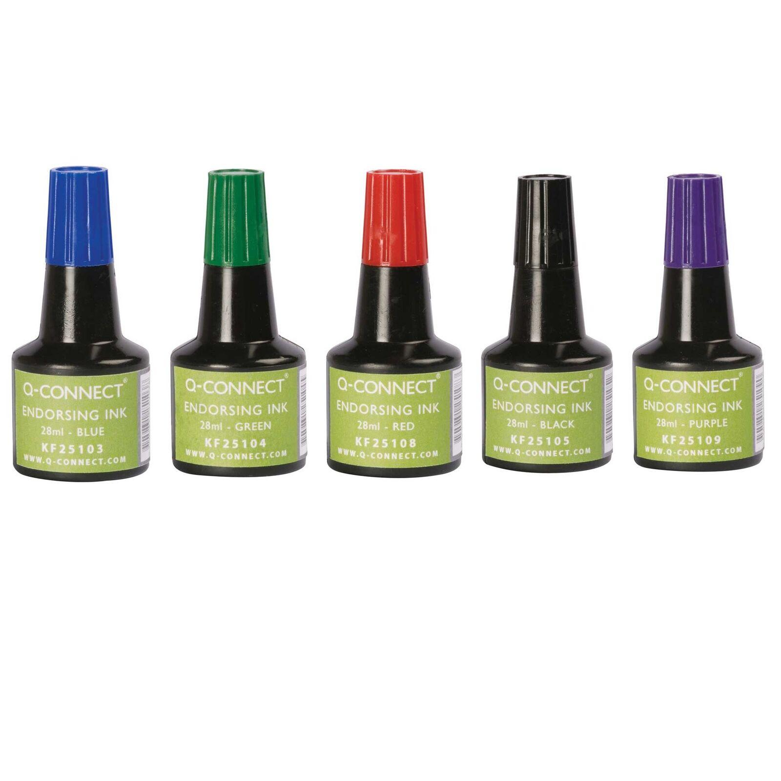 Stempelfarbe Stempel Farbe Nachfülltinte für Stempelkissen ohne Öl 28ml