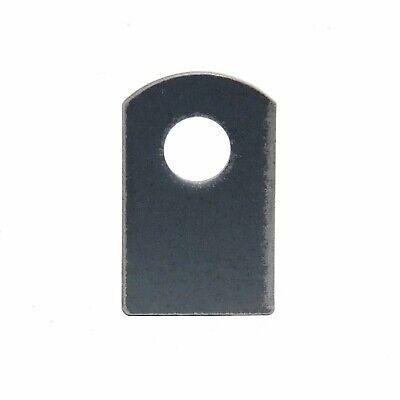 Steel Flat Tab Brackets Weld On 1-1/2