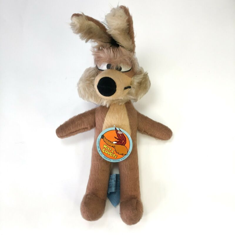 Vintage Wile E. Coyote 1971 Warner Bros. Character Mighty Star Tag Looney Tunes