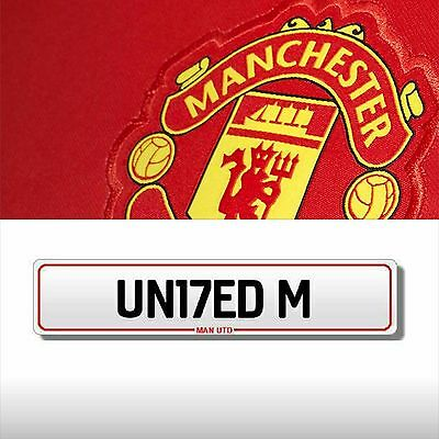 *Private, Personal Number Plate - MANCHESTER UNITED - MAN UTD - UN17 EDM £2000*