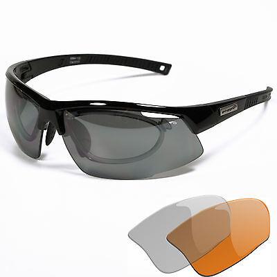 Fahrradbrille Radbrille Sportbrille Optik-Clip für die Sehstärke E865R