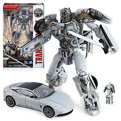 Transformers The Last Knight Deluxe Premier Wave 4 Cogman Action Figure