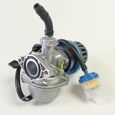 Carburetor W/Air Filter For Honda CRF70F XR70R Carb (Mounting hole spacing 48mm)