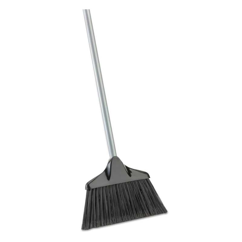 "Libman Commercial Housekeeper Broom 54"" Overall Length Steel Handle Black/Gray 6"