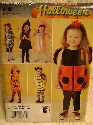 A Pumpkin Halloween Costume (Halloween Costume Sewing Pattern Girl Child SZ A Ladybug Bumblebee)