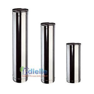 Canna fumaria tubo acciaio inox aisi 304 diam 250 mt 0 50 for Canna fumaria inox bricoman