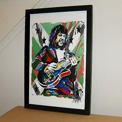 Steve Gaines Lynyrd Skynyrd Guitar Southern Rock Print Poster Wall Art 11x17