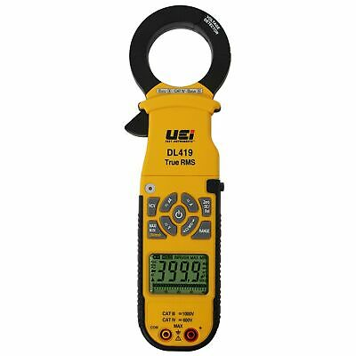 Uei Dl419 Industrial True Rms Clamp-on Meter 1000a Acdc