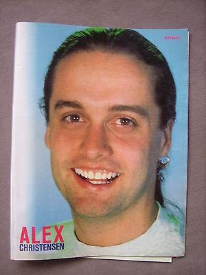 Bravo Poster Alex Christensen (U96) 1992 (90er) gebraucht kaufen  Versand nach Austria