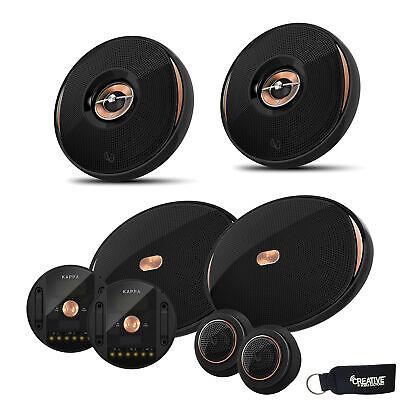 "Infinity KAPPA-90CSX 6x9"" Speakers Infinity KAPPA-62IX 6.5"" Coaxial Speakers"