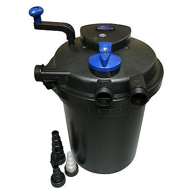 Pressurised Pond Filter Including UV Sterliliser All in One Ponds Up to 16,000L