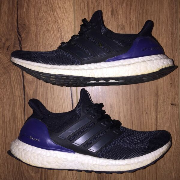 07987e089f95a ... clearance adidas womens ultra boost og black purple hornsby hornsby  area image 2. 1 of