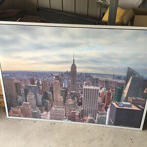 New York skyline framed canvas East Brisbane Brisbane South East Preview