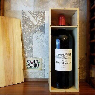 RP 100 pts! JS 100 pts! 2010 Chateau Pontet Canet Bordeaux wine, Pauillac 6L OWC