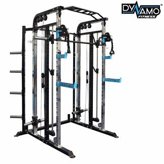 Functional trainer / Cable Crossover / Smith Machine / Squat Rack