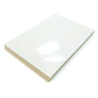 A4 White Glossy Self Adhesive Sticker Paper For Home Printer Multi Purpose Label