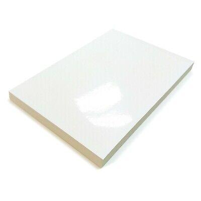 White Glossy Label A4 Self Adhesive Sticker Paper Home Printer Multi Purpose