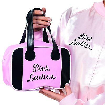 Bowling Kostüme (Fett Rosa Dame Bowlingtasche mit Logo Kostüm Verkleidung Zubehör Neuheit)