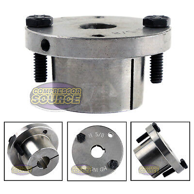 58 Bore H Style Steel Sheave Pulley Bushing Split Taper For Keyed Shaft