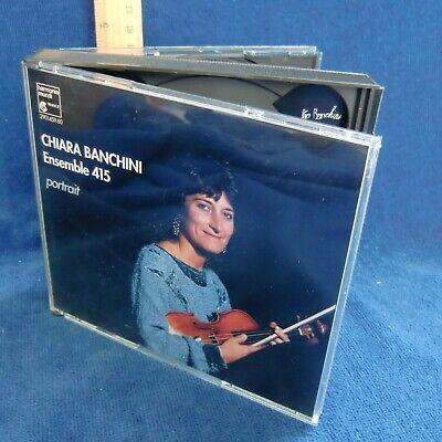 Chiara Banchini Ensemble 415 PORTRAIT 2 CD Harmonia Mundi 2901459.60 GC Vivaldi