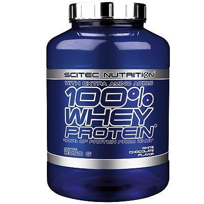 SCITEC NUTRITION 100% Whey Protein 2350 gr 2,35 kg Proteine siero del Latte