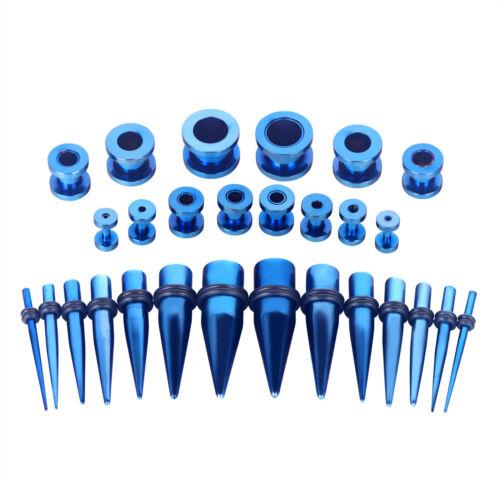 28PCS Ear Stretching Set Plugs Kit