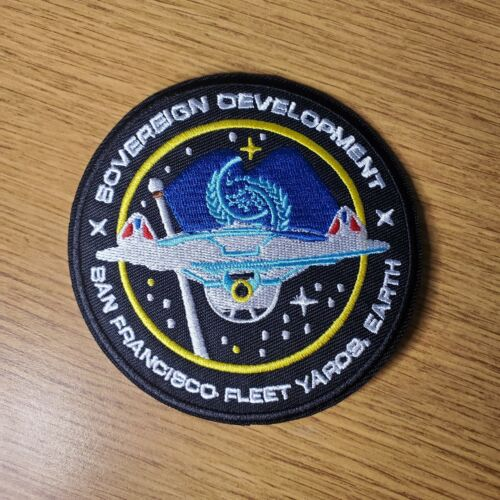 Star Trek Starfleet Sovereign Development Fleet Yards Patch 4 inches wide