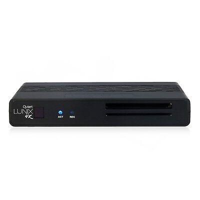 qviart Lunix4K UHD 2160p H265 E2 Linux CI Combo DVB-S2X/C/T2 Multistream
