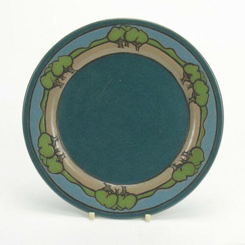 SEG Saturday Evening Girls Paul Revere Pottery 1919 tree band plate Arts & Craft