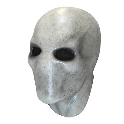 Creepypasta Slenderman Pale White Killer Monster Costume Mask Adult Teen Men](Mens Monster Costume)