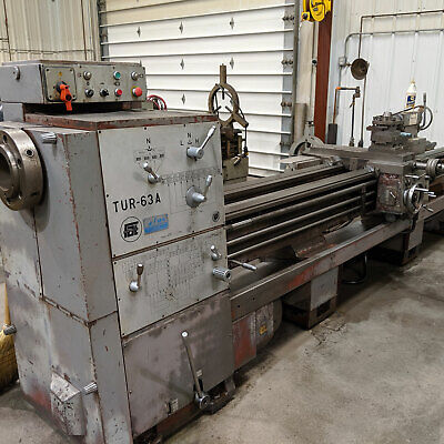 Used Toolmex Tur-63a Lathe