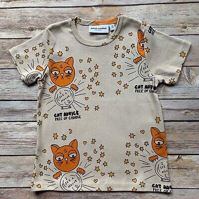 Mini Rodini Cat Advice T-Shirt, 104-110 Cm