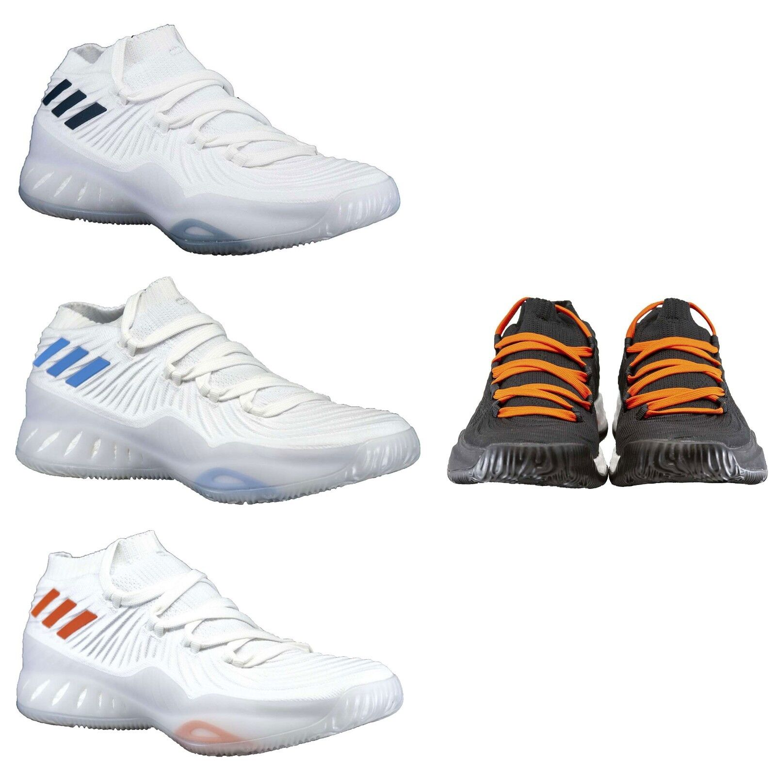 Adidas Men's Shoes SM Crazy Explosive Low NBA/NCAA Lace Up Basketball Shoes