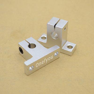 4pcs Sk8 Linear Guide Rail Motion Shaft Support For 8mm Rod Reprap 3d Printer