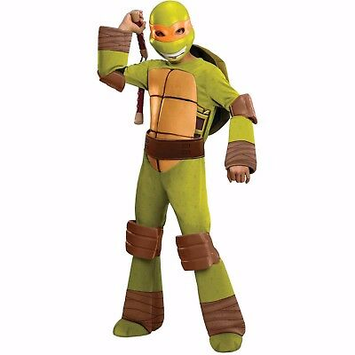 Teenage Mutant Ninja Turtles Michelangelo Costume Size Small (4-6) - Costume Teenage Mutant Ninja Turtles