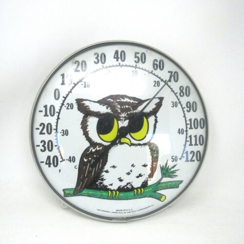 Vintage OHIO Thermometer Co made in USA Outside Thermometer