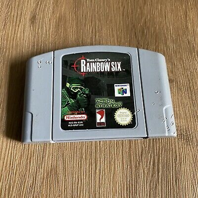Tom Clancy's Rainbow Six - N64 Nintendo 64 - PAL - Cartridge Only