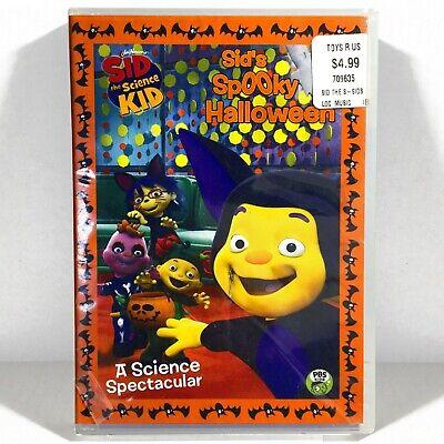 Sid the Science Kid: Sid's Spooky Halloween (DVD, 2011, 45 min.) Brand New !