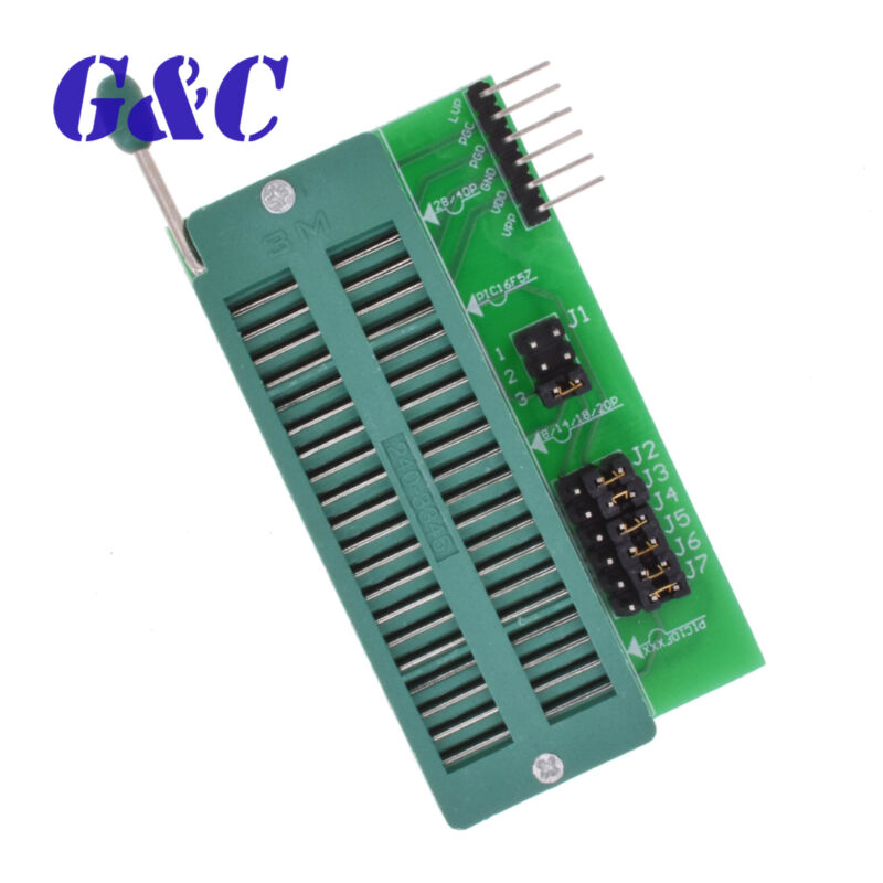 5PCS PIC ICD2 PICKit 2 PICKIT 3 Programming Adapter Programming Seat board M123