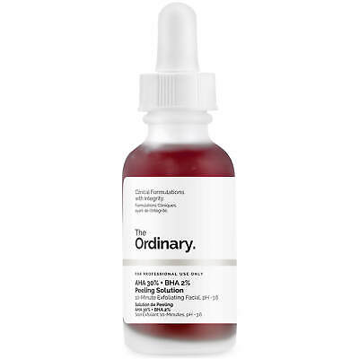 The Ordinary AHA 30% + BHA 2% Peeling Solution 30ml, USA Seller